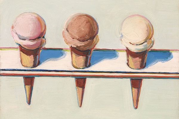 Celebration of Wayne Thiebaud at Christie's Education New York