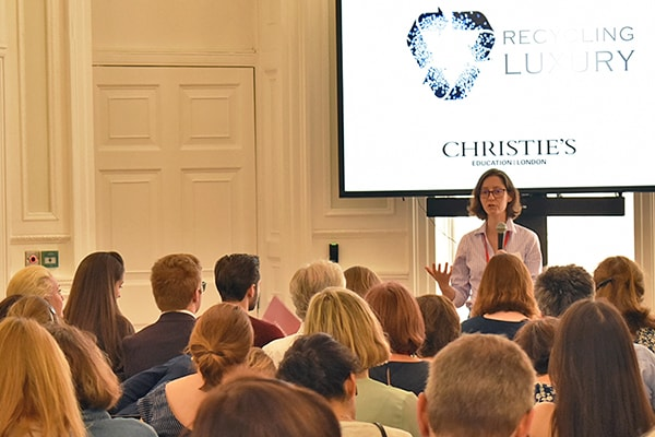 Christie's Education Recycling Luxury Conference Roundup